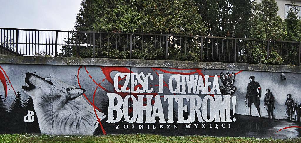 W olsztynie powsta mural patriotyczny stomilowcy for Mural warszawa 44